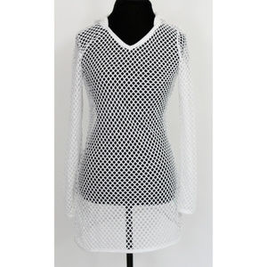 Balance Collection White Mesh Beach Cover Uo